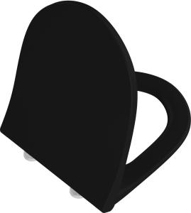 DIANA L300-Black WC-Sitz Slim überlappend