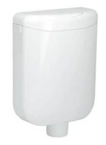 DIANA O100 Eco PVC-Spülkasten 6 Liter