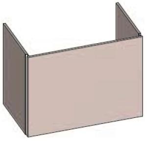 DIANA S200 (Fun2 Kompakt) Waschtischunterschrank zu Möbelwaschtisch S100