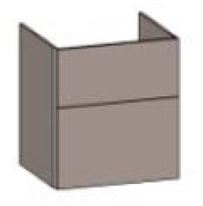 DIANA S200 (Fun2 Kompakt) Waschtischunterschrank zu E-Waschtisch M100