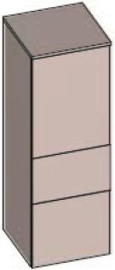DIANA S200 (Fun2 Kompakt) Halbhochschrank