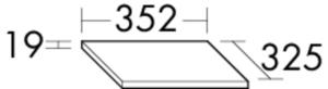 DIANA M300 (Vario) Abdeckplatte APCU035