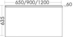 DIANA M300 (Vario) Badmöbel-Leuchtspiegel SIGZ
