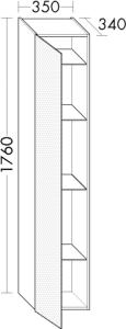 DIANA M500 (Neu) Hochschrank HSLD