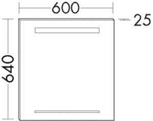 DIANA M500 (Neu) Leuchtspiegel SIHH