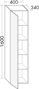 DIANA L200 Ganzkörperspiegel