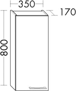 DIANA O100 (Smart2) Hängeschrank