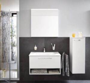 DIANA O100 (Smart2) Mineralgusswaschtisch inkl. Waschtischunterschrank SFGW