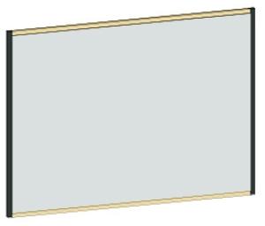 DIANA L300 Flächenspiegel ohne Ablage