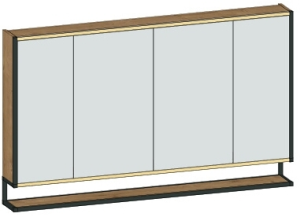 DIANA L300 Spiegelschrank 4-türig mit Ablage