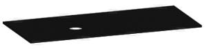 DIANA L300 Waschtischplatte FENIX, Ausschnitt links
