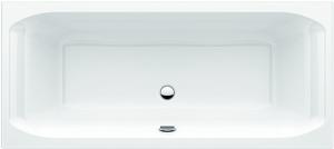 DIANA S100 (Plus) Acryl Einbauwanne Mittelablauf