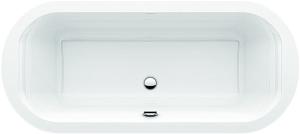 DIANA S100 (Plus) Acryl Oval Einbauwanne