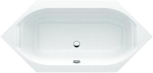DIANA S100 (Plus) Acryl Sechseck Einbauwanne