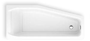 DIANA S100 Acryl Raumspar Einbauwanne