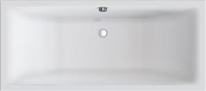 DIANA M100 Acryl-Duo-Einbauwanne
