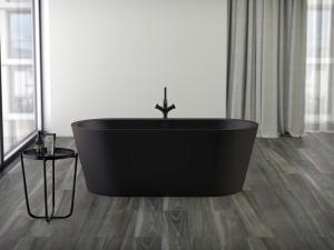 DIANA L100-Black Acrylwanne Oval
