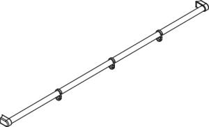 DIANA C100 Handtuchhalter