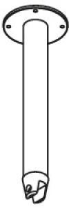 DIANA S200 (Cristal) Decken-/Fußstütze