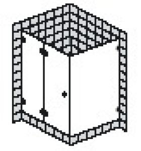 DIANA L600 (Prime) Seiteneinstieg 1-teilig rahmenlos
