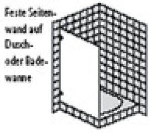 DIANA L600 (Prime) Feste Seitenwand rahmenlos