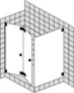 DIANA L600 (Prime) Eckeinstieg PT45 Faltwand 1 Tür