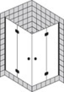 DIANA L600 (Prime) Eckeinstieg 2-teilig teilgerahmt