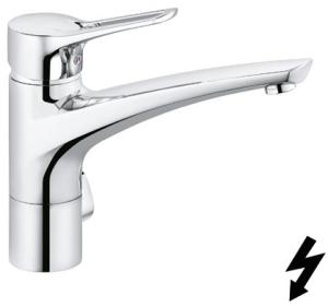 DIANA K700 (Style) Spültischmischer Niederdruck