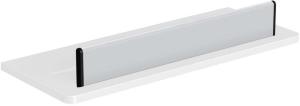 DIANA L100 Duschablage gerade weiß
