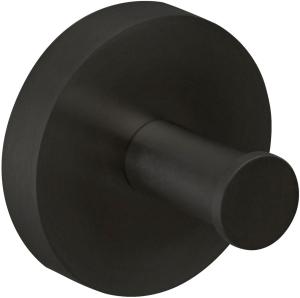 DIANA L100-Black Handtuchhaken rund