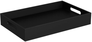 DIANA M100 Ablage schwarz in Lederoptik