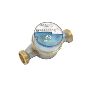 DITECH Wohnungswasserzähler AP funkvorbereitet