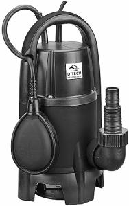 DITECH Schmutzwasser-Tauchmotorpumpe