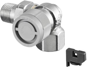 DITECH L Thermostatventil, Winkel-Eck, rechts