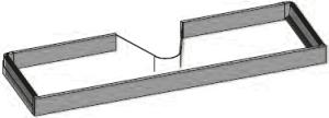 DIANA S300 Set Innenauszug mit Ausschnitt